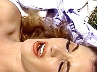 Supah Hot Dark-haired Cougar Called Alexandria Quinn Love Railing...