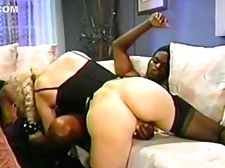 Melanie Moore - Tall Blonde Romantic Fuckfest With Black Man